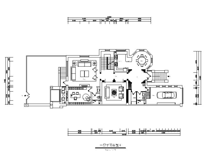 [河北]新古典别墅设计CAD施工图(含效果图)