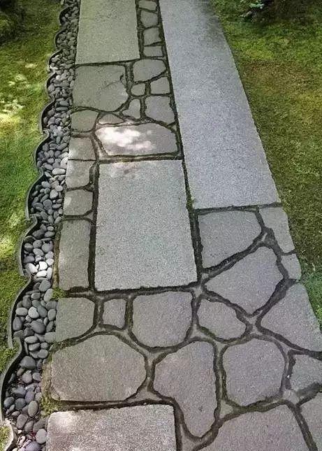 庭院铺装,一步一生莲_30