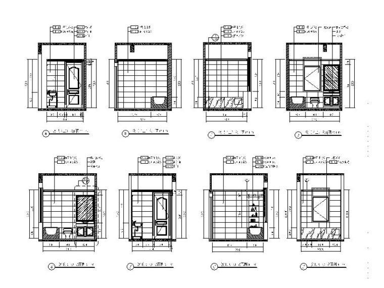 [青岛]全套别墅设计室内装饰施工图_6