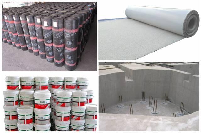 认识一下建筑工程中常用的防水材料