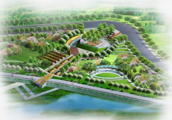 [甘肃]某河城区段生态环境整治工程景观规划设计.rar