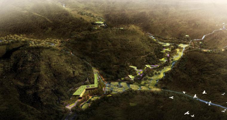 [陕西]野生海棠林高山湿地风景区核心景观设计
