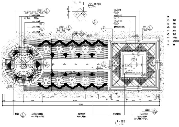 最全园林道路、广场各式铺装设计施工图200套