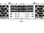 [深圳]六层框架结构中学建筑施工图(含结构专业)