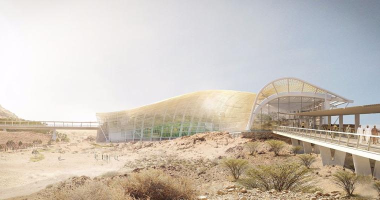 世界最大阿曼生态植物园