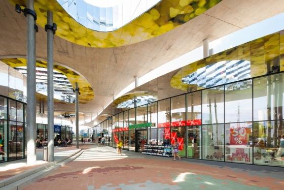 万漪景观分享--Nord Graz 购物中心