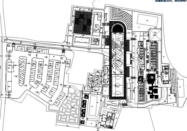 [浙江]某中学校园环境景观改造设计施工图