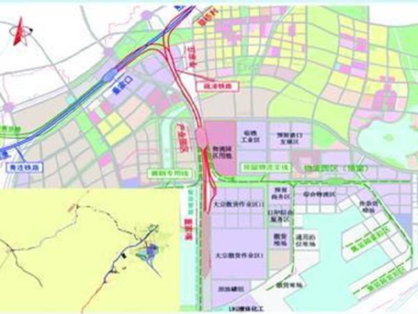 总投资约23亿青岛董家口疏港铁路,2018上半年通车