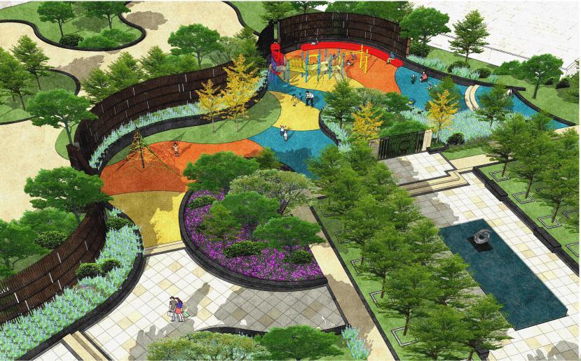 [方案][南京]商业景观环境景观设计方案文本图片