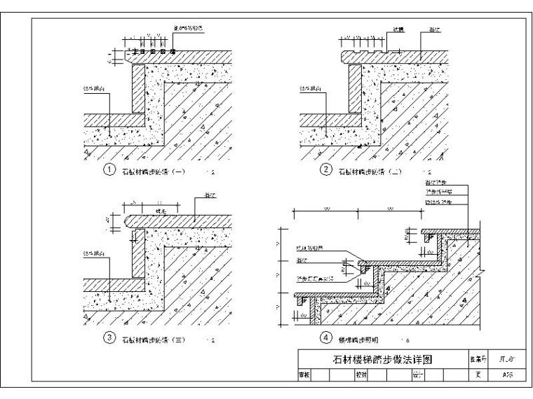 石材墙面通用节点图库(干挂,干粘,胶粘,收头,嵌缝节点)