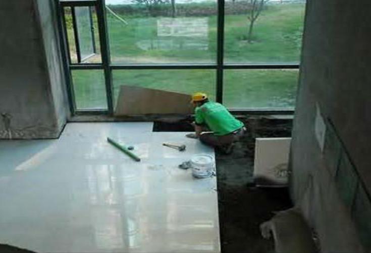 地面玻化砖施工方案