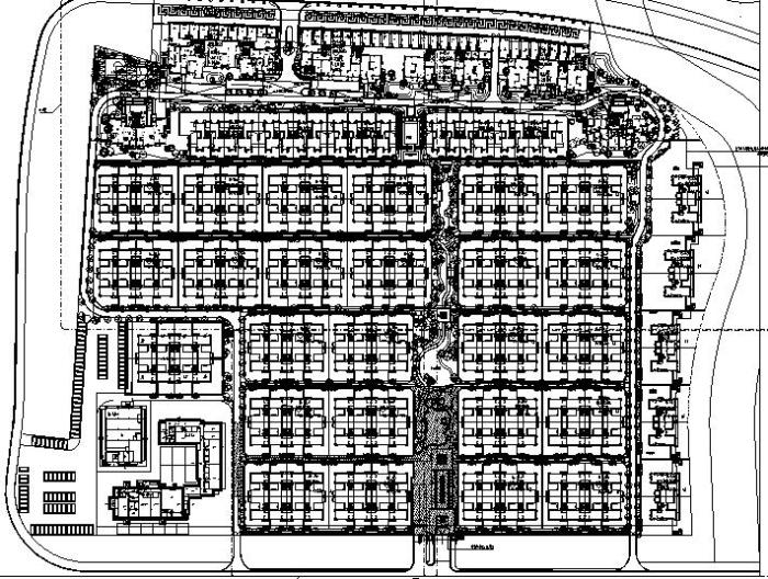 [福建]滨水高端中式园林别墅典范居住区景观规划方案施工图