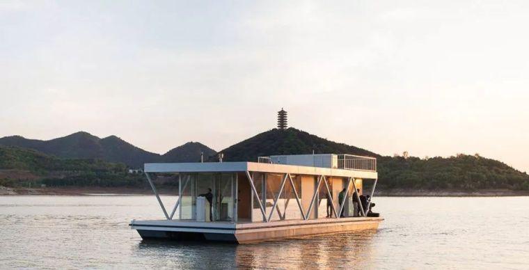 超美的水上筏式酒店設計,美出了新高度_32