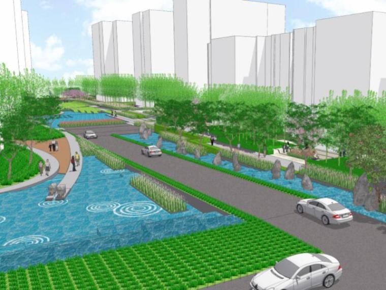 [重庆]万科悦湾天琴湾南区景观总体规划概念(雨水花园)