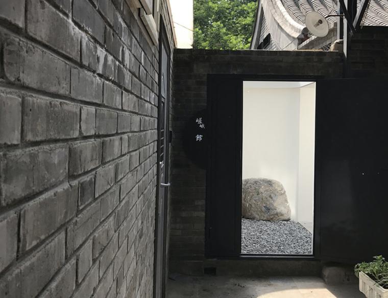 """[北京]后海""""嵯峨馆""""民宿酒店建筑设计"""
