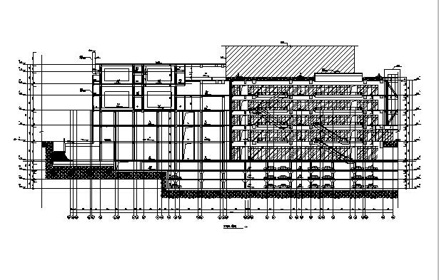 [浙江]17年最新高层商业建筑施工图(含水暖电全专业图纸)