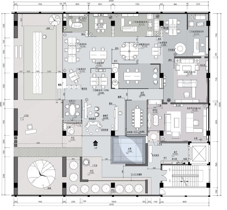 [广东]迪欧家具展厅设计方案文本