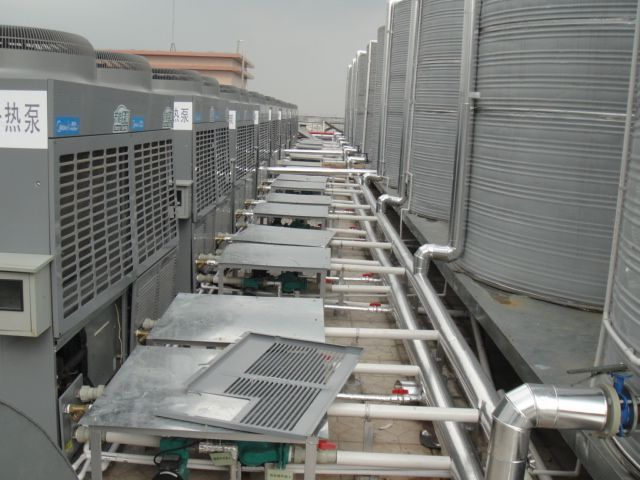 热泵热水器工作原理知识。