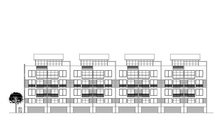[贵州]贵阳山水黔城建筑施工图设计(CAD)