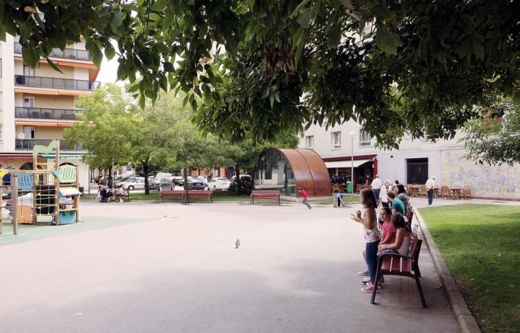西班牙SanJuanBosco广场上的遮蓬_6