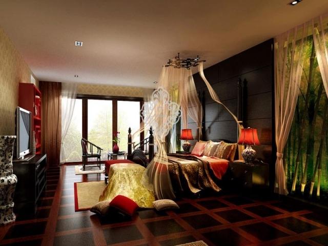 天津室内装修别墅装修设计玫瑰庄园项目案例展示