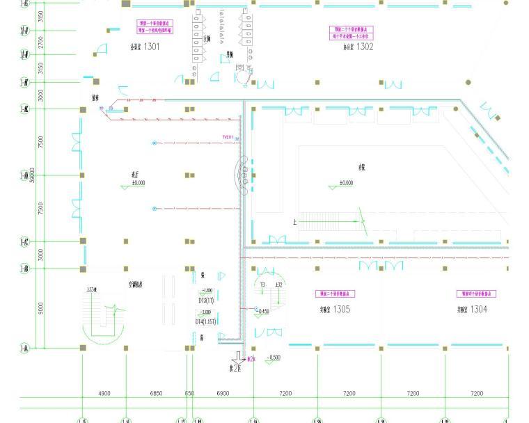 长江大学武汉基地石油科技中心设计全套图纸(含强电、弱电、动力、建筑、结构)