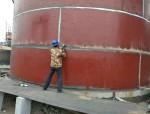 银川石嘴山市英立特西部热电工业废水改造高盐水箱部分细节图片