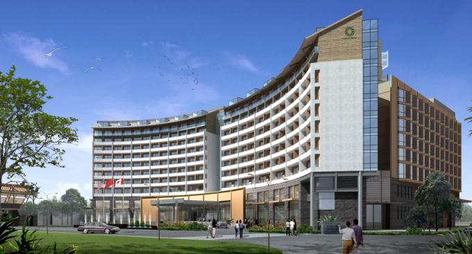 酒店公寓景观效果图