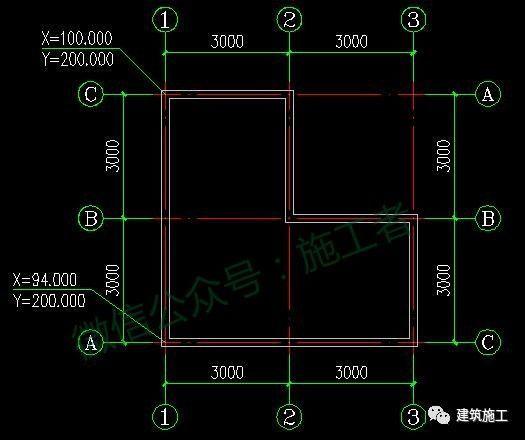 如何快速计算出图纸中任意点的坐标值