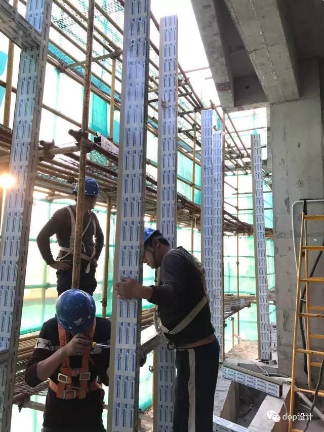 玻璃幕墙与装饰收口问题及施工流程_10