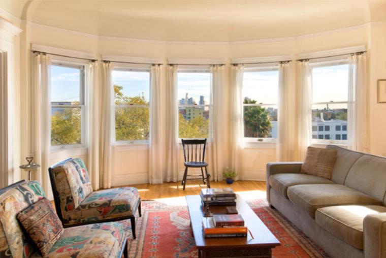 美式混搭风格低调奢华公寓房实景图