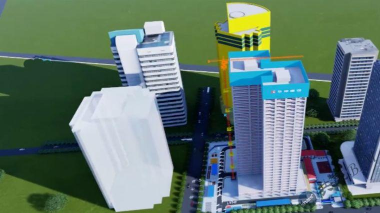 东莞环球财富大厦BIM技术应用汇报