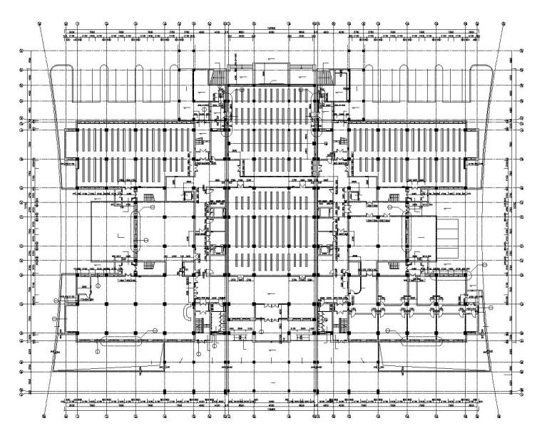 某大型图书馆内部装修施工图设计