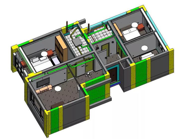 干货! BIM在住宅精装修中的应用价值及要点!