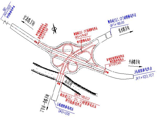 互通立交桥工程施工组织设计(158页)_1