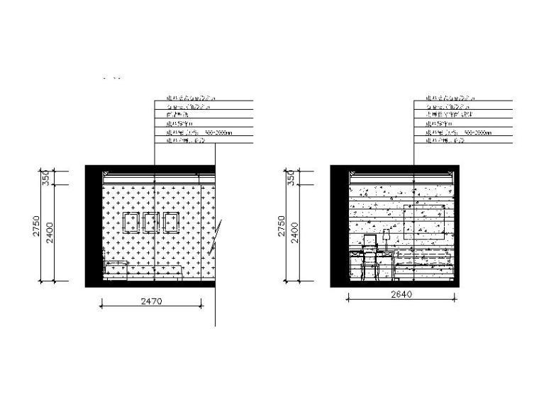 欧式颜色光标调整CAD施工图(含效果图)设计怎样cad别墅设置风格图片