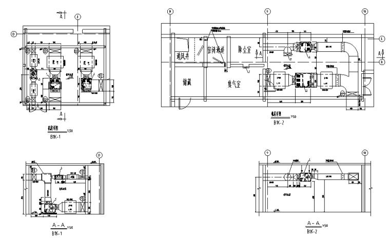江苏滁州质监局水暖电全套施工图(100+张图纸)