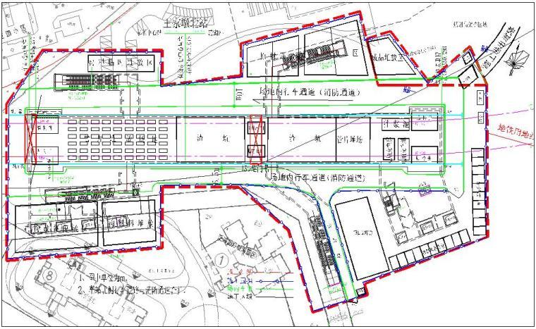 [湖北]地铁车站工程临时设施施工方案