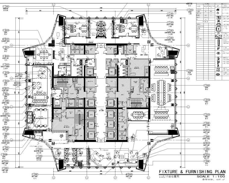 [深圳]CCD-平安金融中心內裝CAD施工圖+深化設計方案+建筑/室內效果圖