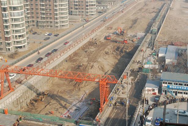 地铁明挖法施工是怎么回事?