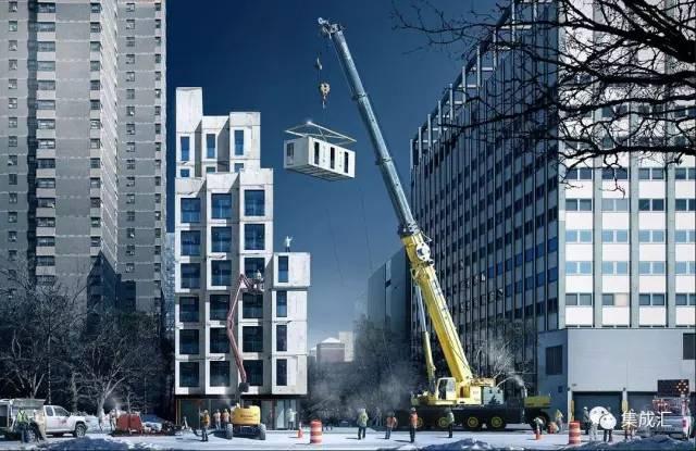 在纽约,有一幢比特朗普大厦还牛逼的公寓楼,90%工厂制造……_2