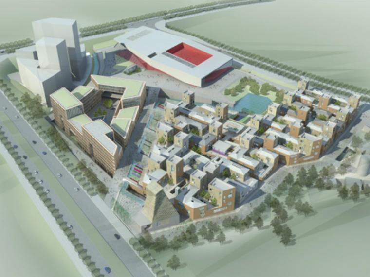 [江西]绿地景德镇文化产业建筑方案(全套方案+CAD图纸)