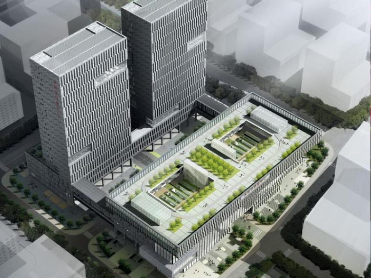 [深圳]市档案中心建筑设计方案文本(施工图)