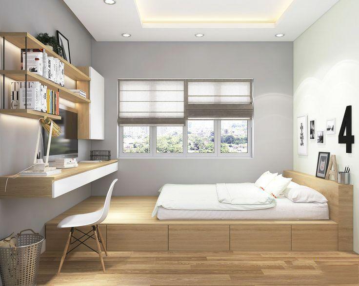 榻榻米床+柜子如何组合设计?35个案例告诉你..._33