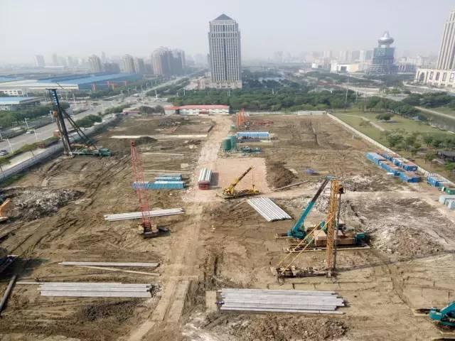 中惠美京桩基及基坑围护顺利完工 土方工程及内支撑积极推进