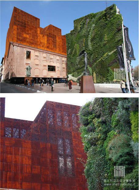 全球28个经典的垂直绿化、屋顶花园设计案例