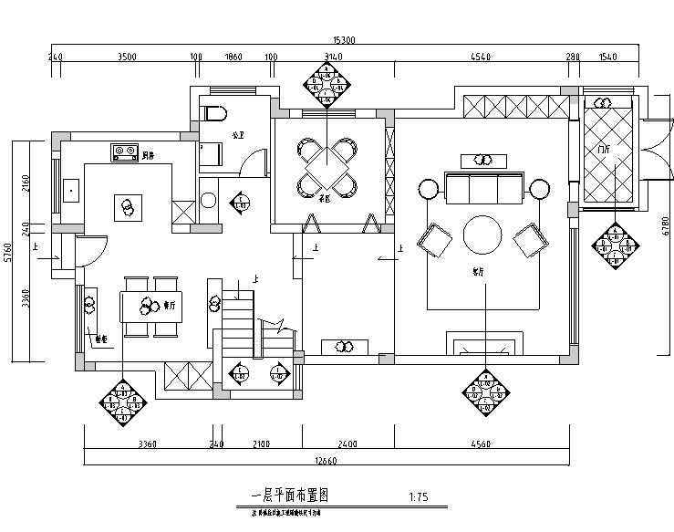 现代简约别墅设计施工图(附效果图)