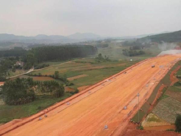 中建道路施工工地,最全的标准化施工照片
