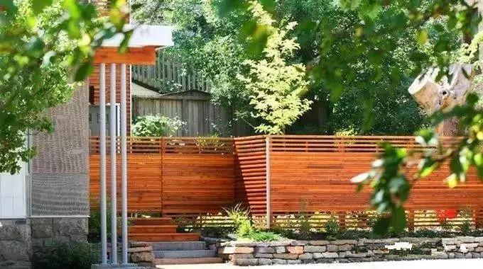 5种材质的围墙设计,让庭院与众不同