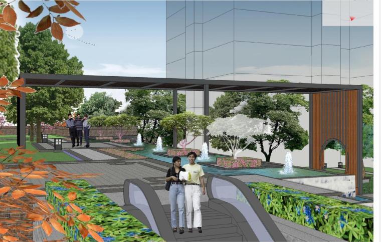 [陕西]西安东安叁城景观方案规划设计文本(包含PDF+33页)